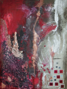 Exotherm, 60 cm x 80 cm, Mixed Media