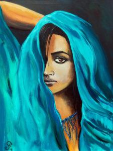 Magie, 70 cm x 100 cm, Acryl